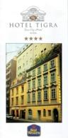 Ancien Dépliant Hôtel Tigra, Das City Hotel Wien (Vienne) - Dépliants Touristiques