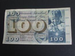 100 Francs SUISSE 28 Mars 1963 - Banque Nationale Suisse - Schweizerische Nationalbank  **** EN ACHAT IMMEDIAT **** - Zwitserland