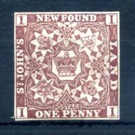 1857-62 NEWFOUNDLAND (Terre-neuve) N.1 (*) - 1857-1861