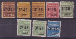 COLIS POSTAUX  YT147/14/151/152/154** ET YT148/150/153*  COTE YT 42E - Neufs