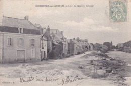[49] Maine Et Loire > Rochefort Sur Loire Le Quai Sur Le Louet - France