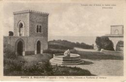 10839 Trapani - Monte S.Giuliano - Villa Balio, Chiosco E Fontana Di Venere - Trapani