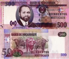 "MOZAMBIQUE 500 Meticais, 2011, P153, UNC, ""Wild Water Buffalo"" - Moçambique"