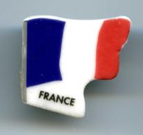 """FEVE  - FEVES -  """"LES DRAPEAUX EUROPÉENS"""" - DRAPEAU FRANCE - Countries"""