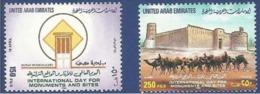 UNITED ARAB EMIRATES - UAE MNH 1999 INTERNATIONAL DAY OF MONUMENTS SITES DUBAI MUNICIPALITY - Ver. Arab. Emirate