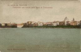 10772 Trapani - Panorama Con Veduta Delle Mura Di Tramontana - Trapani