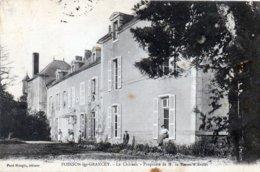 Poinson-les-Grancey. Chateau. Propriété De M. Le Baron D'Avon. - Autres Communes