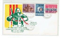 FDC VIET-NAM SUD - ASIE - 1 ENVELOPPE 1ER JOUR - N°247/249 - 1/11/1964 - Vietnam