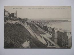 CPA CPSM CP SEINE MARITIME 76 SAINTE-ADRESSE LE HAVRE 1918 - PANORAMA ET NOTRE-DAME DES FLOTS / PLAGE - BE - Sainte Adresse