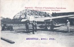 Ελλάδα - Grece - ARGOSTOLI ( Cephalonie ) - Travaux D Installation D Aerodrome - Avril 1916 - Greece