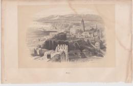 Malaga, Gravure. Espagne. - Prints & Engravings