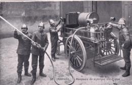 POMPIERS - Manoeuvre De La Pompe Electricque - Sapeurs-Pompiers