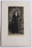 Grande Photographie Originale Portrait De Femme Photographe Marcel Boudet Saint Hilaire Du Harcouët 50 - Personnes Anonymes