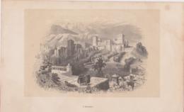 L'Alhambra, Gravure. Espagne. - Prints & Engravings
