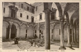10883 Trapani - R. Liceo Ginnasio - L. Ximenes - Atrio - Trapani