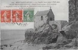 CPA Du MONT SAINT MICHEL - La Chapelle Saint-Aubert - Le Mont Saint Michel