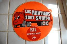 GRAND AUTOCOLLANT:  LES ROUTIERS SONT SYMPA  - RTL - Stickers