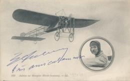 """Aviateur AUBRUN - Signature AUTOGRAPHE Sur CP """" Aubrun Sur Monoplan Blériot ( Nouveau ) - Flieger"""