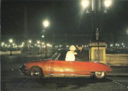 CP Voiture 3232 DS 19 Cabriolet 1961 'Place De La Concorde' - PKW