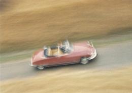 CP Voiture 3233 DS 21 Cabriolet 1965 - PKW