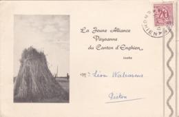 La Jeune Alliance Paysanne Du Canton D' Enghien - Old Paper