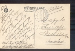 Biggekerke Langebalk - 1916 Militair Verzonden - Marcophilie