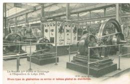 Liège La Soc,A.me Force Et Eclarageà Exposition De Liège 1905 - Lüttich