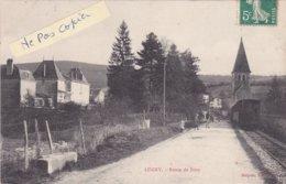 71- LUGNY- Route De BISSY- ARRIVEE Du TRAIN- Edit. DESPOIX- Ecrite- 16/8/1908 - France