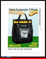 Ref. BR-3102A BRAZIL 2011 POST, POSTAL SERVICES, POUCH,, TYPE 2009, SELF-ADHESIVE MNH 1V Sc# 3102A - Brasilien