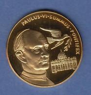 Goldmedaille Heiliges Jahr 1975 Papst Paulus VI. Petersdom 11,62g Gold Au999 - Münzen
