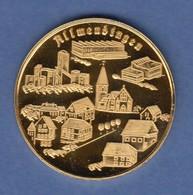 Goldmedaille Allmendingen Alb-Donau-Kreis 1979 10,70g Gold Au986 - Monedas