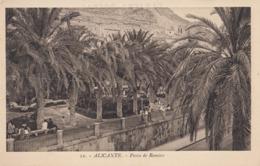 ALICANTE: Paseo De Ramiro - Alicante