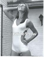 Photo Originale De Mode Féminine N° 17 - Monokini (années 60-70) - Studio GOETHALS, Wolvertem (18,2 Cm X 24 Cm) - Métiers
