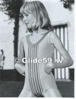 Photo Originale De Mode Féminine N° 18 - Monokini (années 60-70) - Studio GOETHALS, Wolvertem (18,2 Cm X 24 Cm) - Métiers