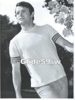 Photo Originale De Mode Masculine N° 01 - Polo (années 60-70) - Studio GOETHALS, Wolvertem (18,2 Cm X 24 Cm) - Métiers