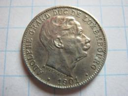 5 Centimes 1901 - Luxemburgo
