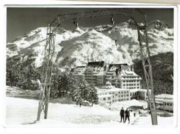 St Moritz - Suvretta House - Piz Rosatsch - Remonte-pente - Ski - 1965 - Foto Max - 2 Scans - GR Grisons