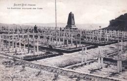 88 - Vosges - SAINT DIE - Le Cimetiere Des Tiges - Saint Die