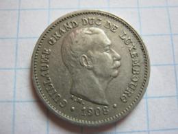 5 Centimes 1908 - Luxemburgo
