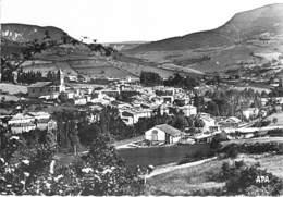 12 - ST GEORGES De LUZENCON : Vue Générale - CPSM Village (1.650 Habitants) Dentelée Noir Blanc Grand Format - Aveyron - France