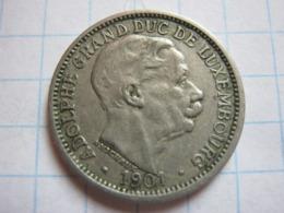 10 Centimes 1901 - Luxemburgo