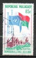 MADAGASCAR Admission Au Nations - Unies 1962 N°363 - Madagaskar (1960-...)