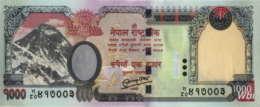 Nepal 1000 Rupee (P68b) 2010 -UNC- - Népal