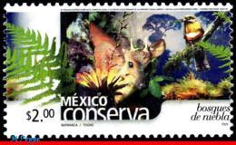 Ref. MX-2257 MEXICO 2002 NATURE, CONSERVATION, RAIN, FORESTS, PLANTS, BIRDS, DEER,(2.00P),MNH 1V Sc# 2257 - Umweltschutz Und Klima