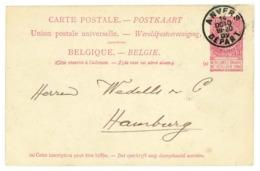 Firmen-Ganzsache Ruys & Co. Antwerp / Anvers 1902 Nach Hamburg - Stamped Stationery