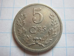 5 Centimes 1924 - Luxemburgo