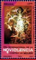 Ref. MX-2563 MEXICO 2007 HEALTH, INTL.DAY AGAINST VIOLENCE, TOWARDS WOMEN, BIRDS, MNH 1V Sc# 2563 - Mexique