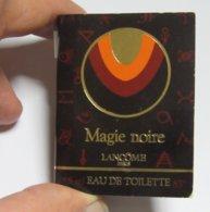 Miniature De Parfum  SUR CARTE LANCOME MAGIE NOIRE - Perfume Miniatures