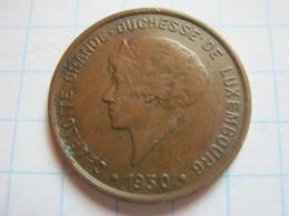 5 Centimes 1930 - Luxemburgo
