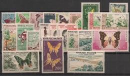 Madagascar - Année Complète 1960 - N°Yv. 341 à 356 + PA 78 à 83 - Neuf Luxe ** / MNH / Postfrisch - Madagaskar (1960-...)